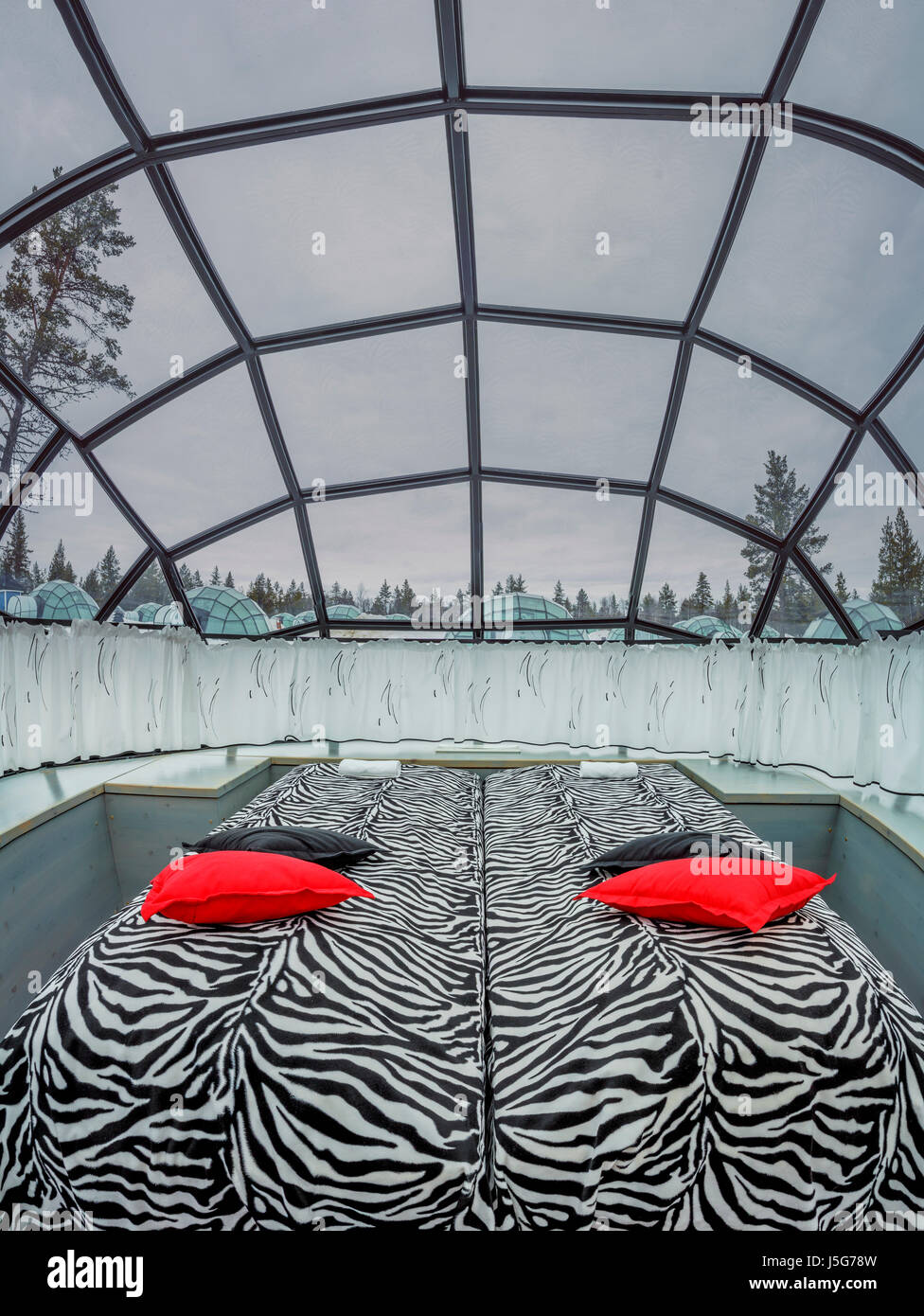 igloo hotel lapland arctic stockfotos igloo hotel. Black Bedroom Furniture Sets. Home Design Ideas
