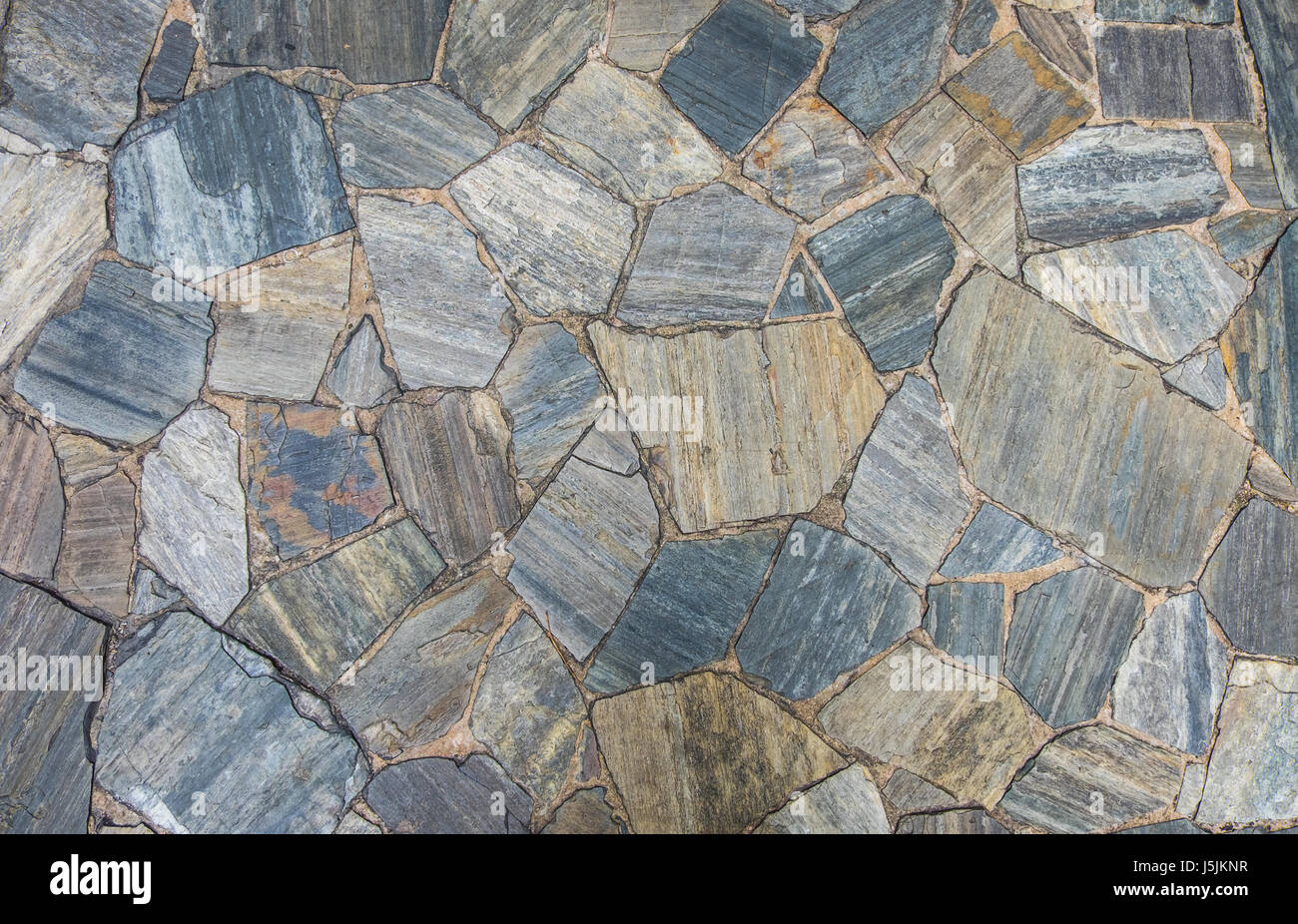 Schiefer Naturstein Boden Und Wand Textur In Zufalliger Grosse Muster
