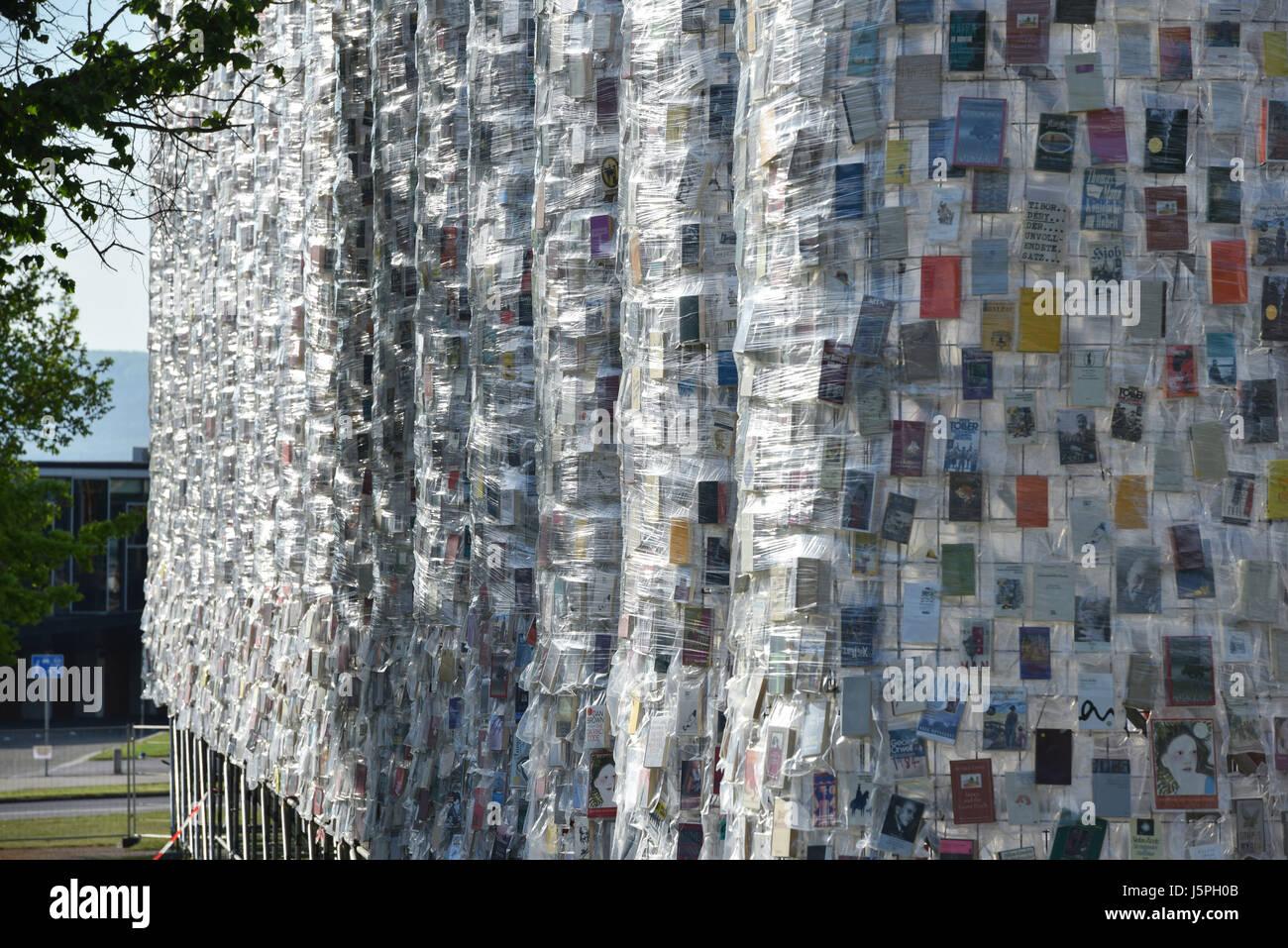 Kassel, Deutschland. 18. Mai 2017. Die Documenta Kunstwerk \