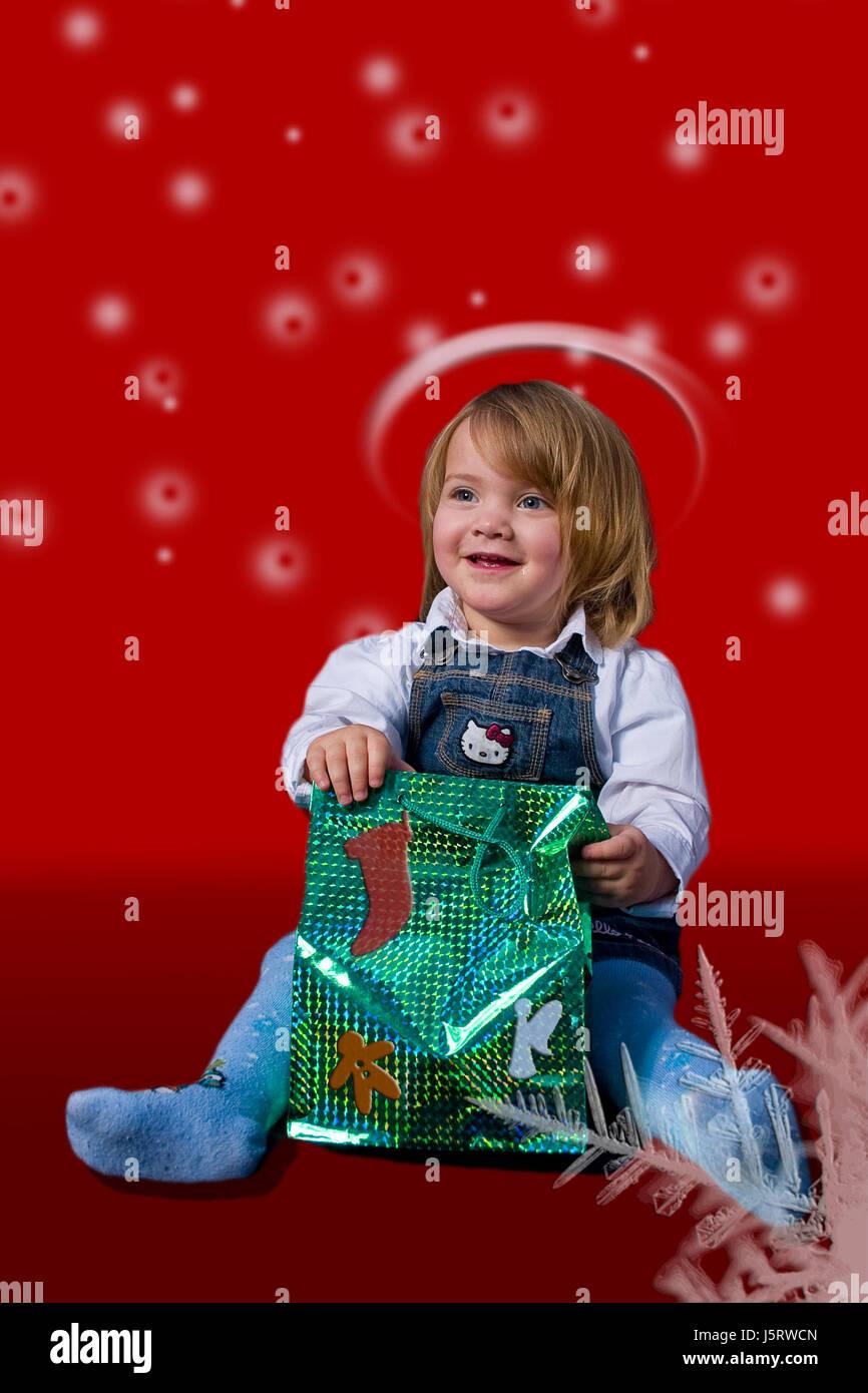 Engel Engel feiern Feier Glanz Tasche Aureole Weihnachten das Kind Jesus Stockbild