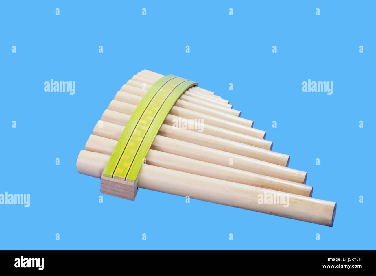 Musikinstrument Bambus Querflote Holzblaser Massnahme Instrument