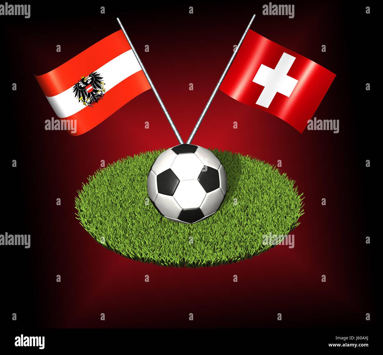 Fußball-Europameisterschaft 2008 Stockfoto