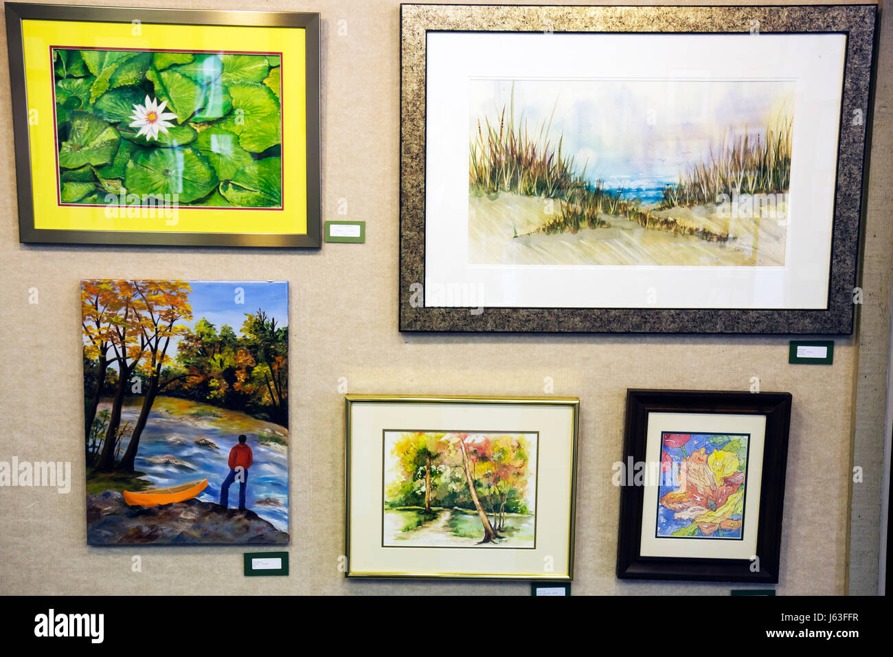 Watercolor Gallery Stockfotos & Watercolor Gallery Bilder - Alamy