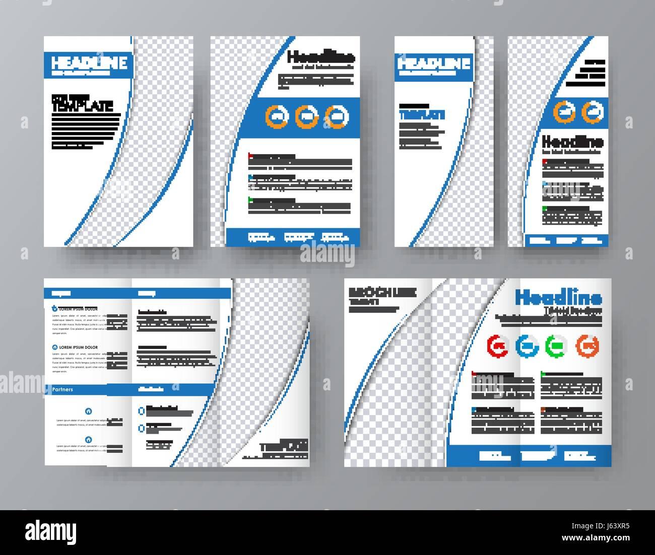 Abstract Print A4 Design Blue Stockfotos & Abstract Print A4 Design ...