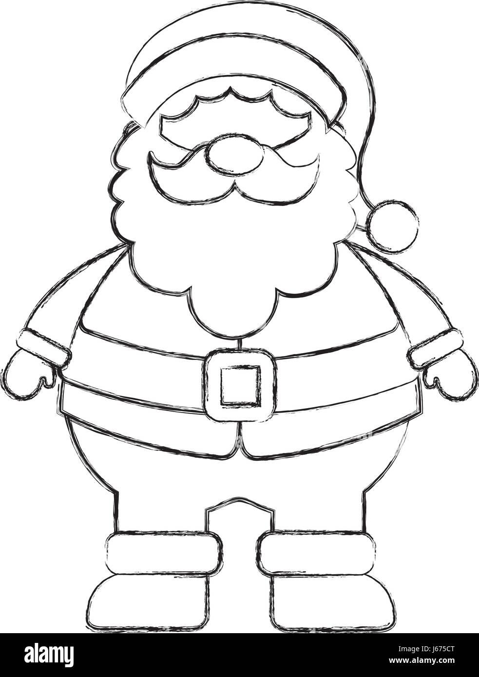 Groß Malvorlagen Santa Claus Gesicht Zeitgenössisch - Beispiel ...