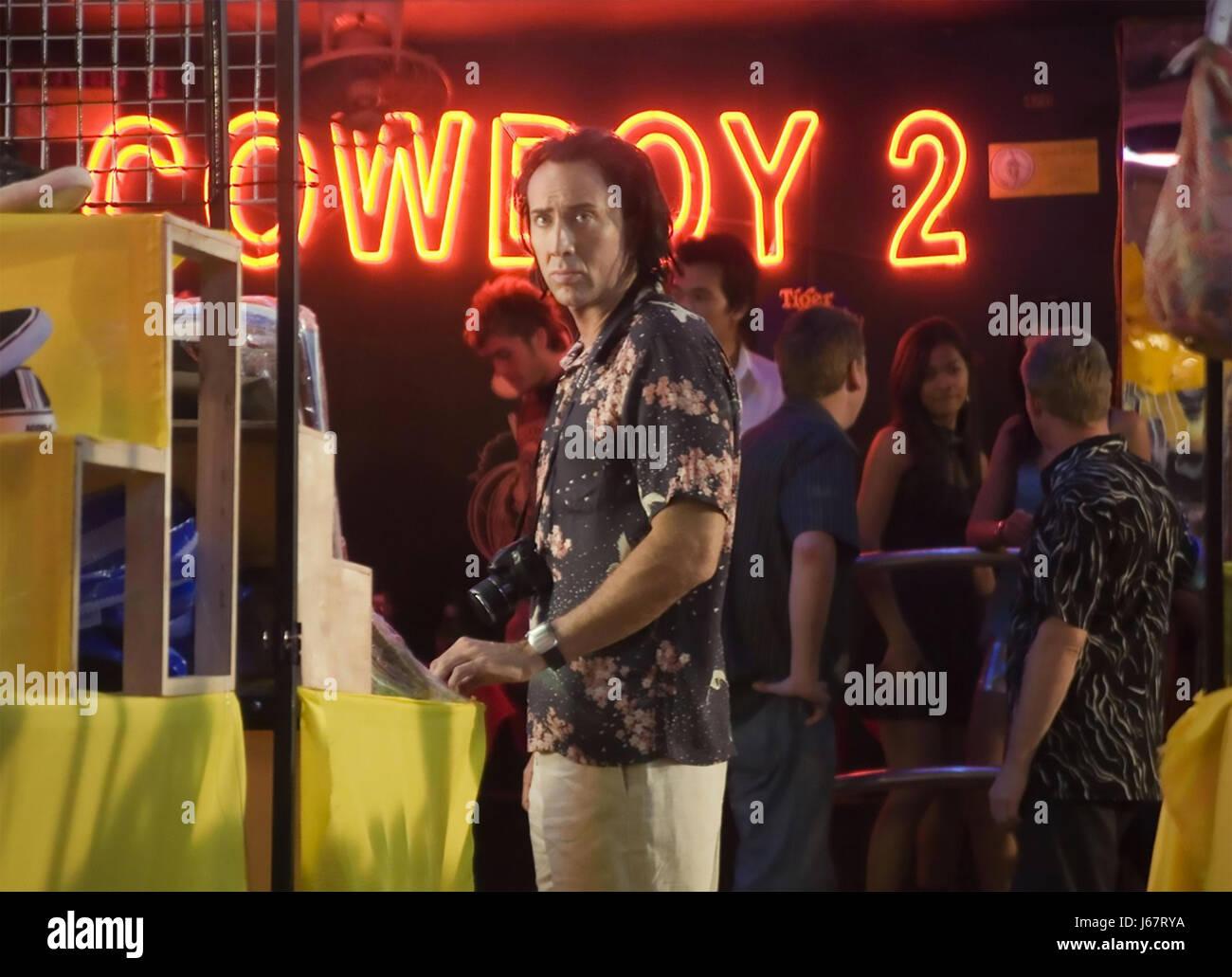 BANGKOK gefährlich 2008 Lionsgate Film mit Nicholas Cage Stockbild