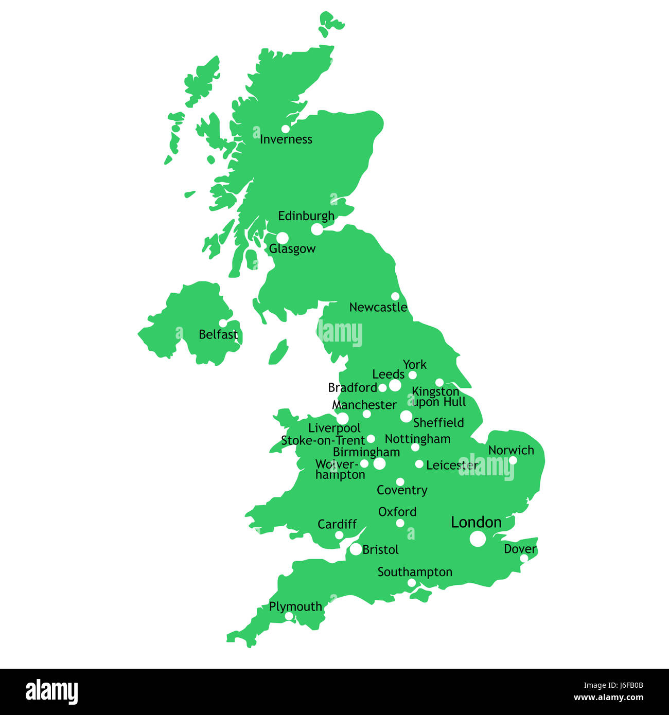 United Kingdom Map Stockfotos & United Kingdom Map Bilder ...