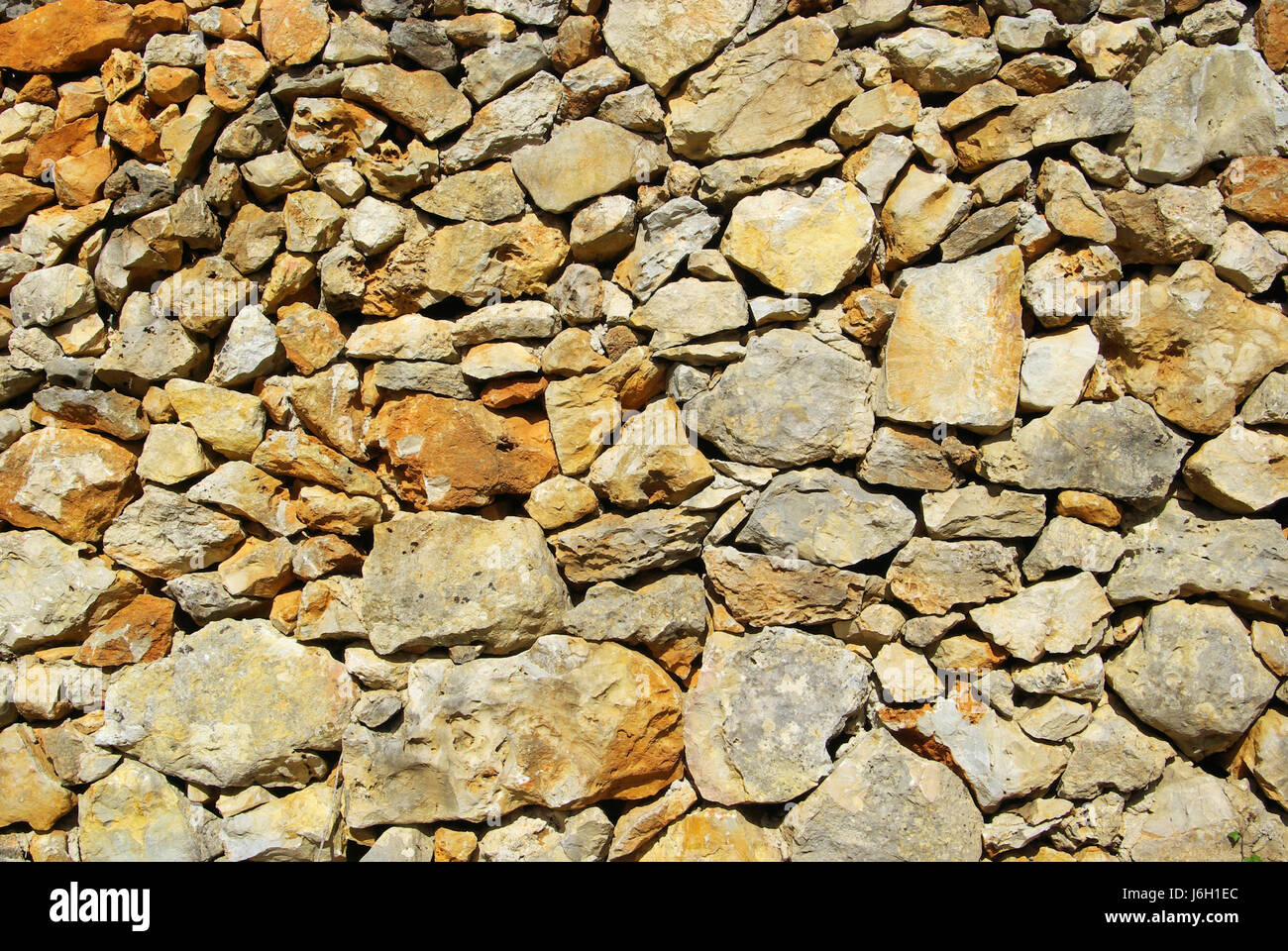 Stein Stein Mauer Granit Hunks Brocken Stein Graue Braun Grau