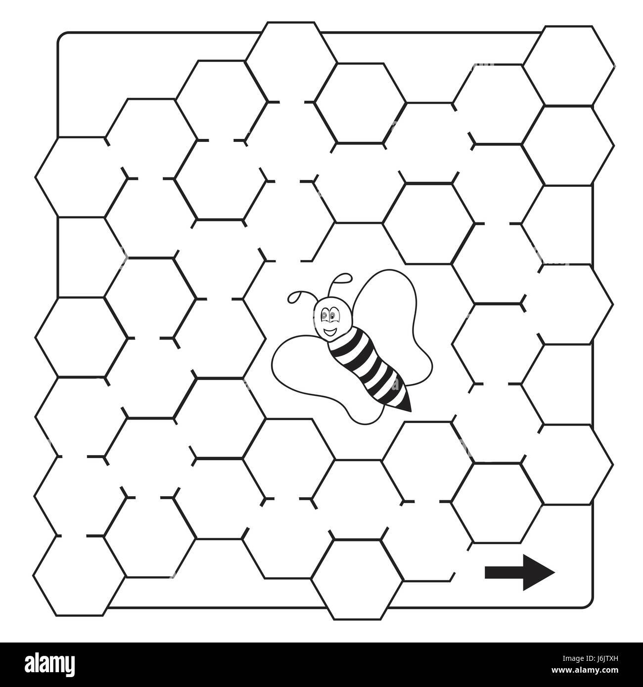Cartoon Character Bee Stockfotos & Cartoon Character Bee Bilder - Alamy