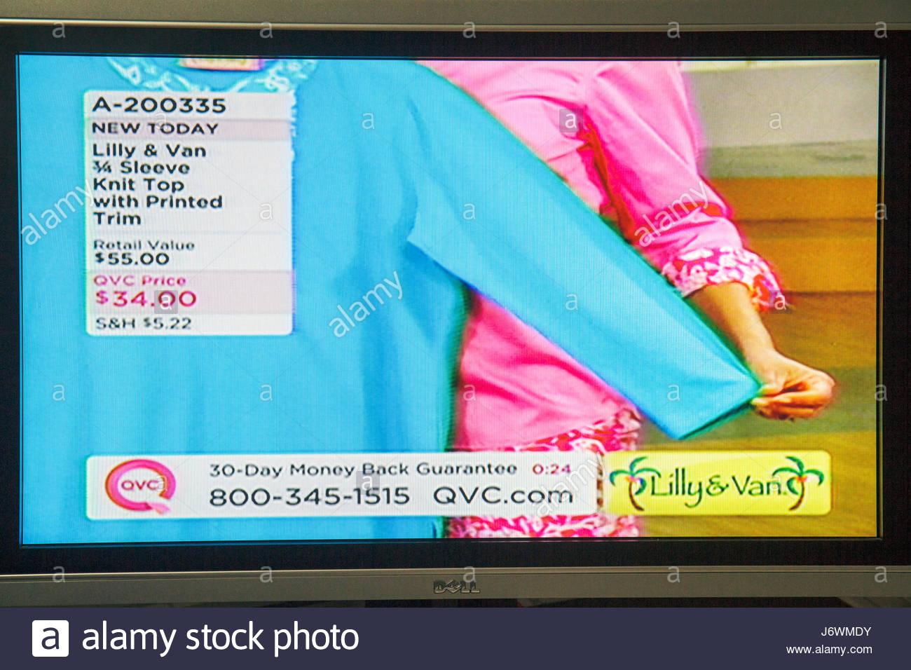 Miami Beach Florida Fernsehen TV Flachbildschirm Bildschirm Monitor ...