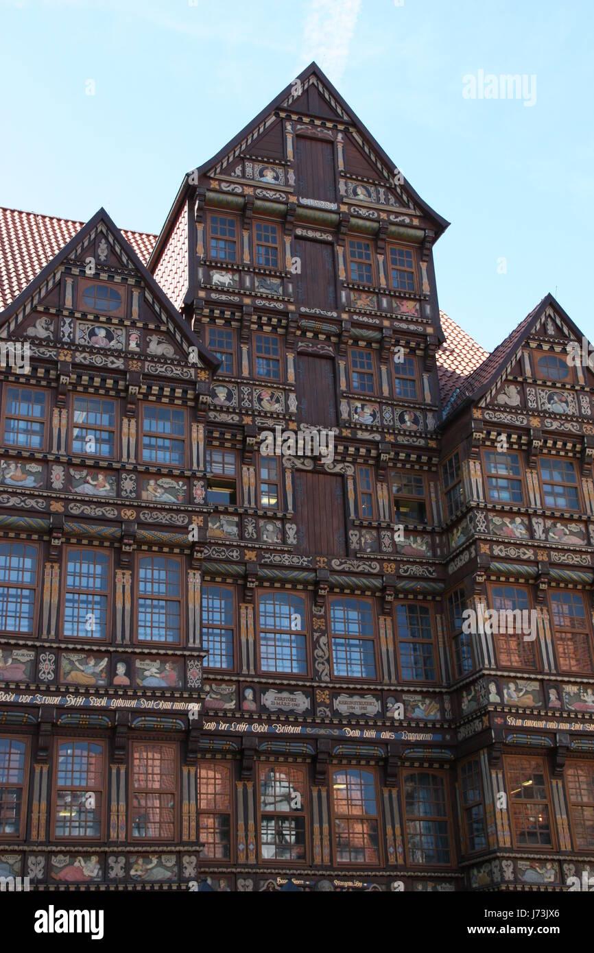 historischen Rahmen-Arbeit Fassadenstil Bau Architektur Architektur ...