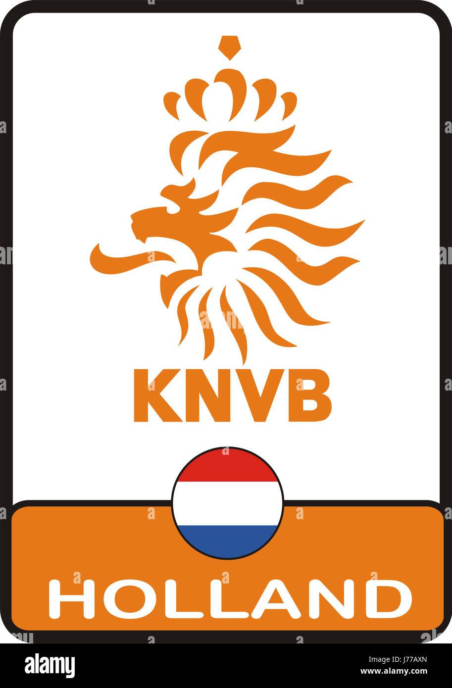 Niederlande Sport Sport Fussball Fussball Sport Sport Emblem