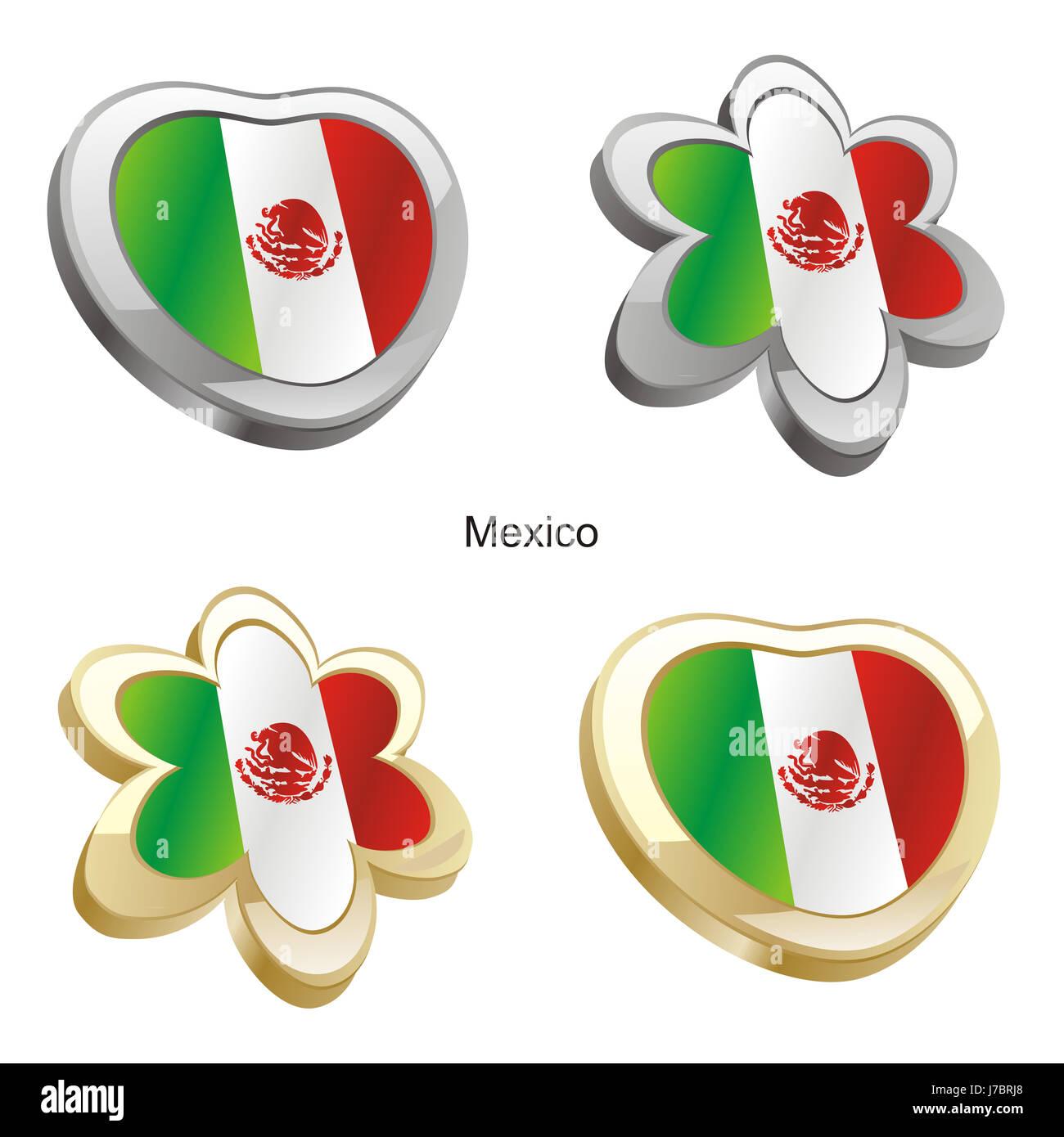 Fein Mexiko Flagge Farbung Seite Galerie - Malvorlagen Von Tieren ...
