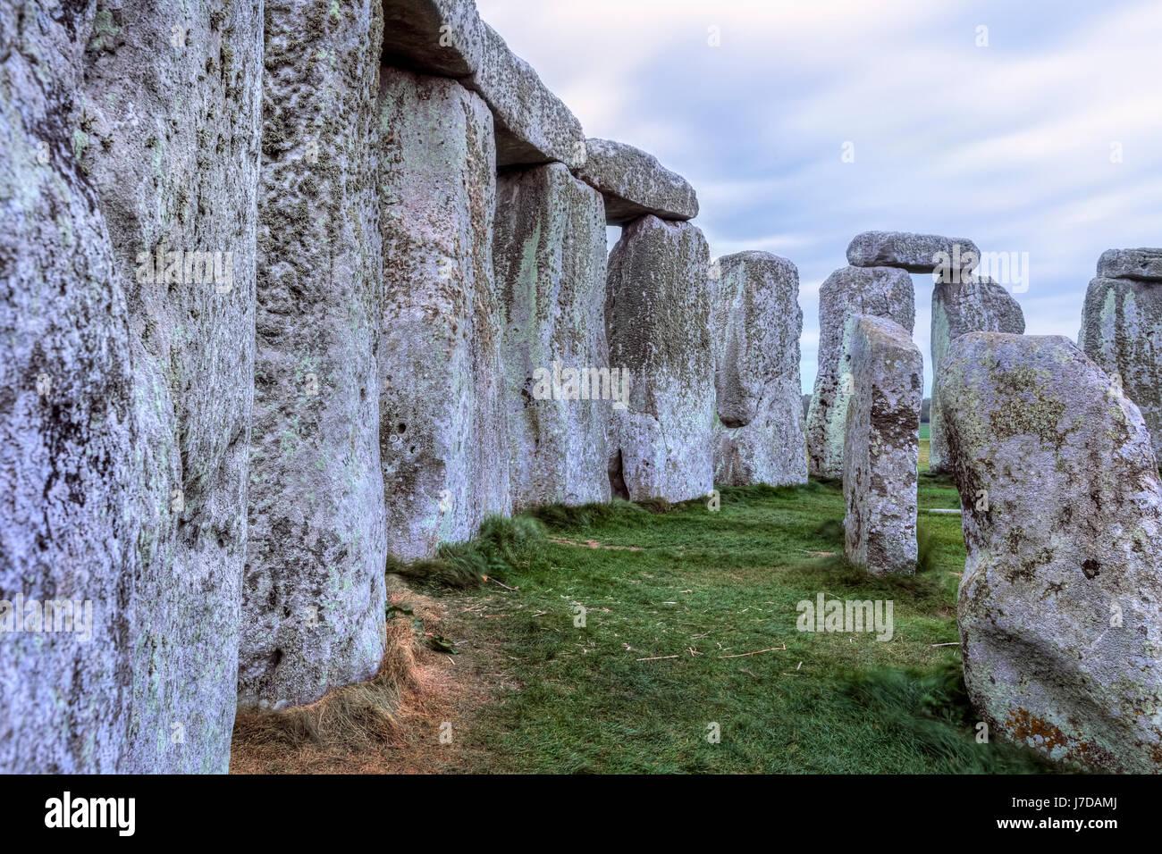 Stonehenge, Wiltshire, England Stockbild