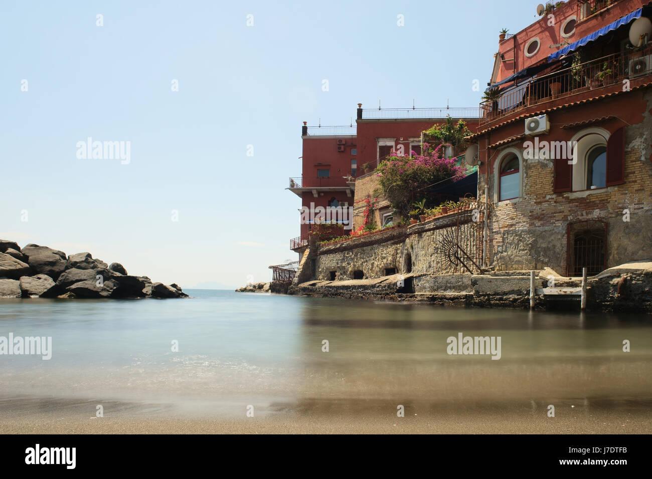 Bagno sirena sirena beach in neapel italien posillipo
