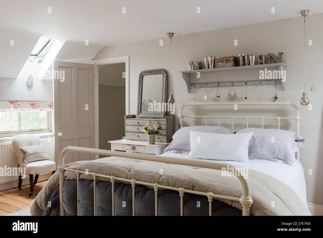 Schmiedeeisen Bett Stockfotos Schmiedeeisen Bett Bilder Alamy