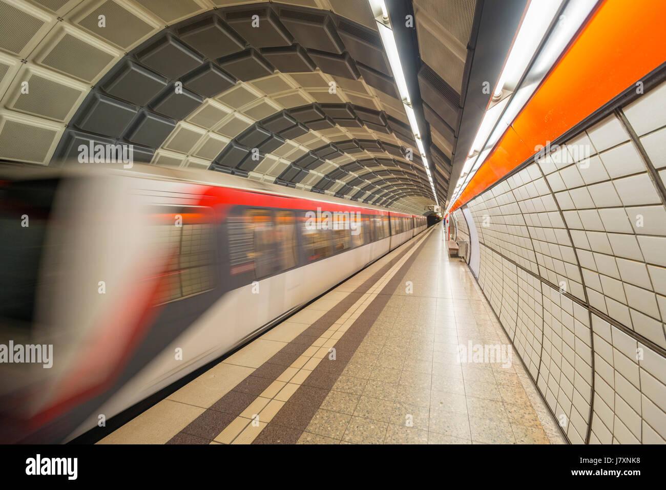 U-Bahn Stockbild