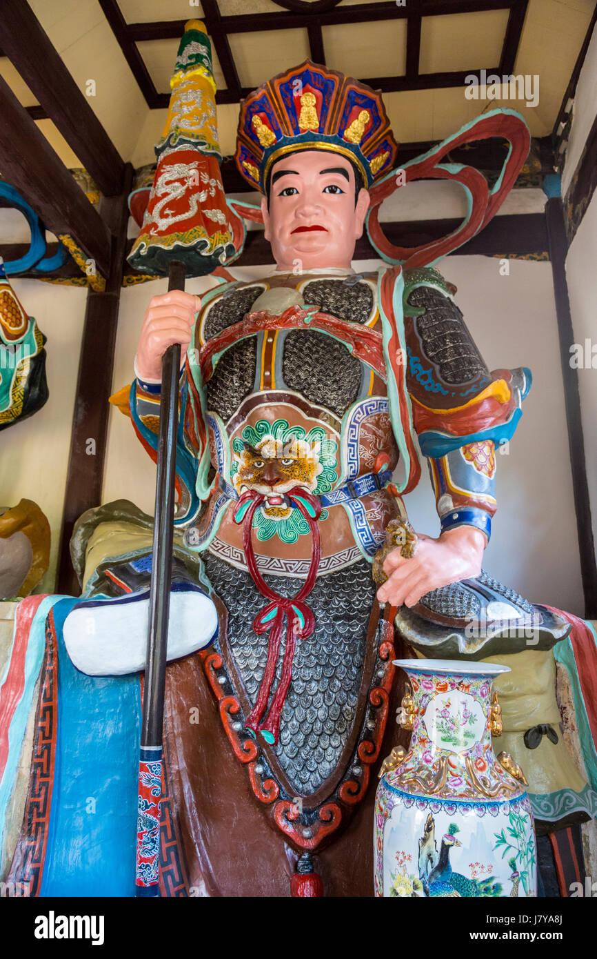 Wenzhou China Jiangxin Buddhistischen Tempel Duo Wen Tianwang