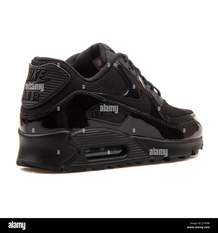 finest selection 65246 50ede ... best price nike wmns air max 90 premium damen schwarz glänzend sneakers  443817 002 3c74f 854d8
