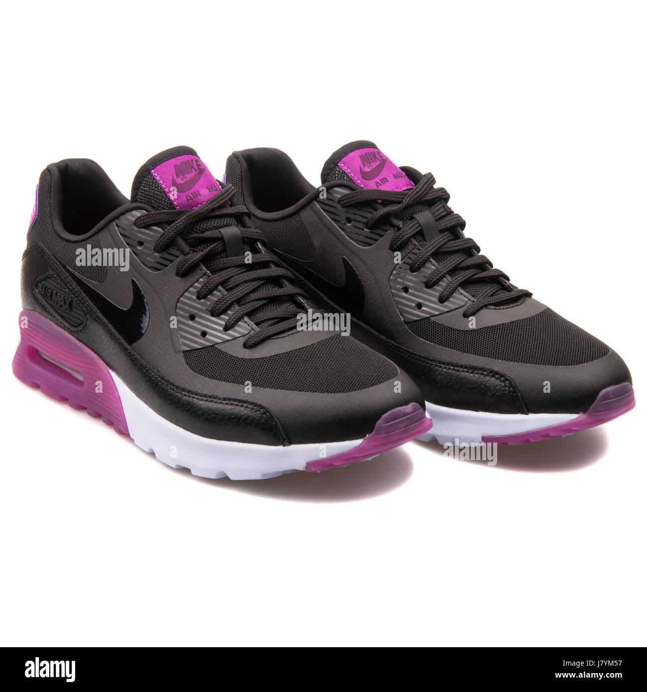 Nike Air Max 90 LTR schwarz Turnschuhe grau und Gelb Herren
