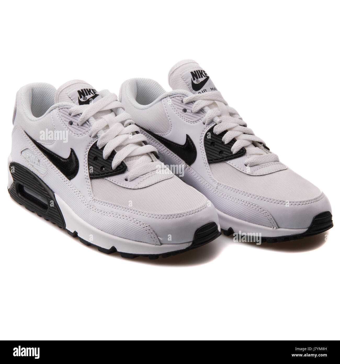 Nike WMNS Air Max 90 wesentliche weiße Damen Sport Sneakers