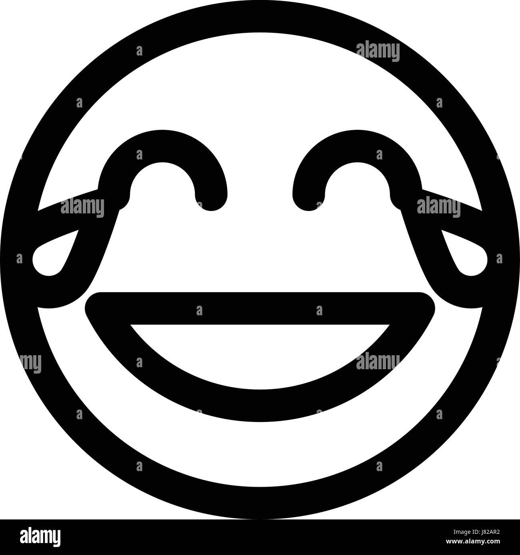 Zwinkern smileys schwarz weiß Redbubble logo