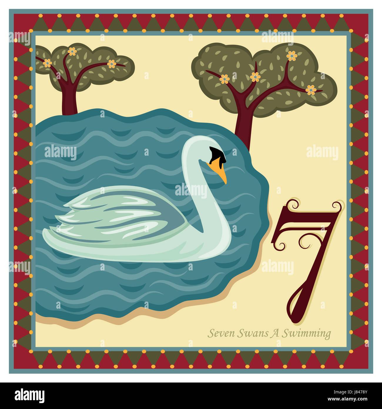 Religious Card Christmas Spiritual Twelve Stockfotos & Religious ...