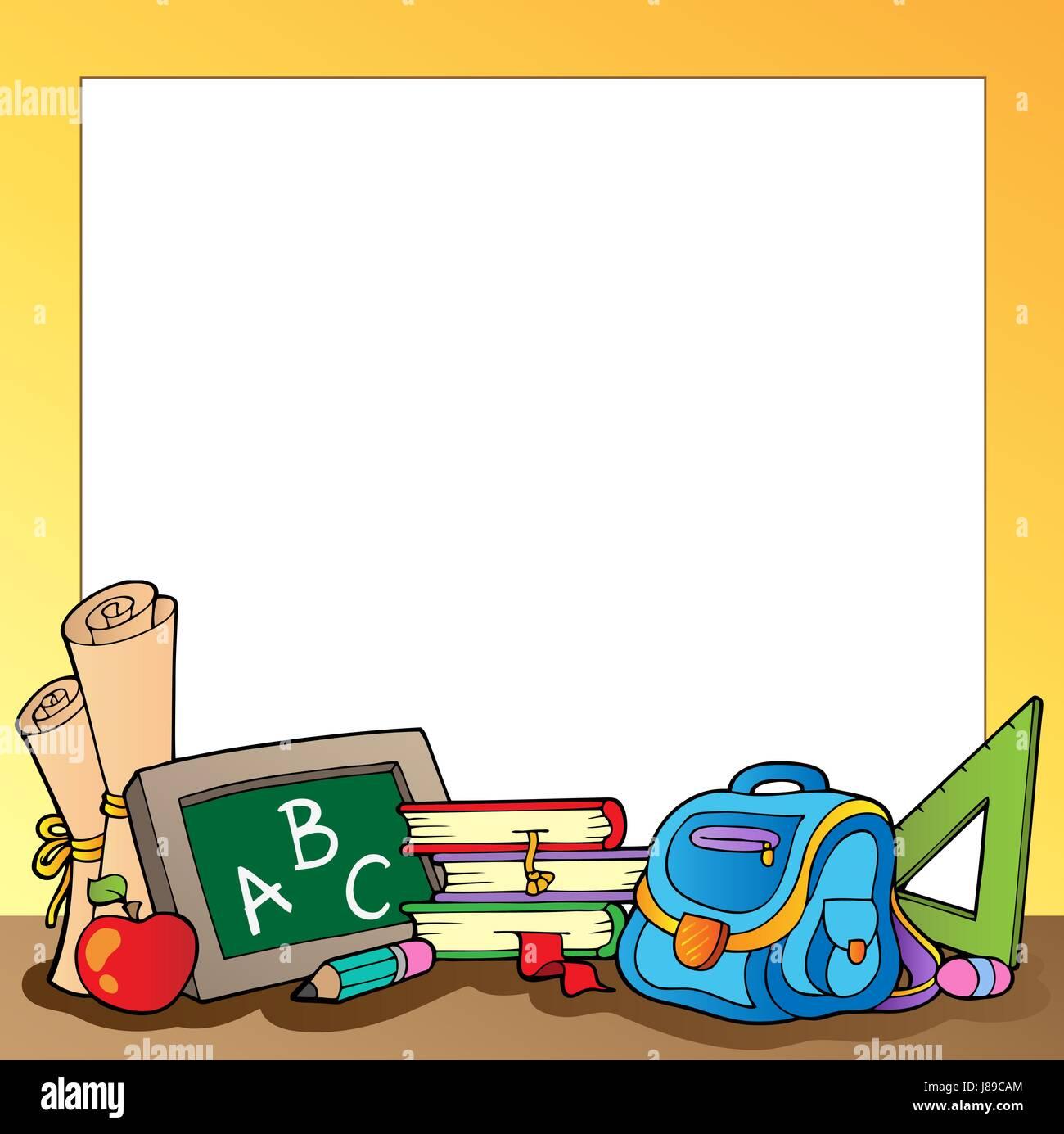 Erziehung, erziehen, Zusammensetzung, liefern, Rahmen, liefert ...
