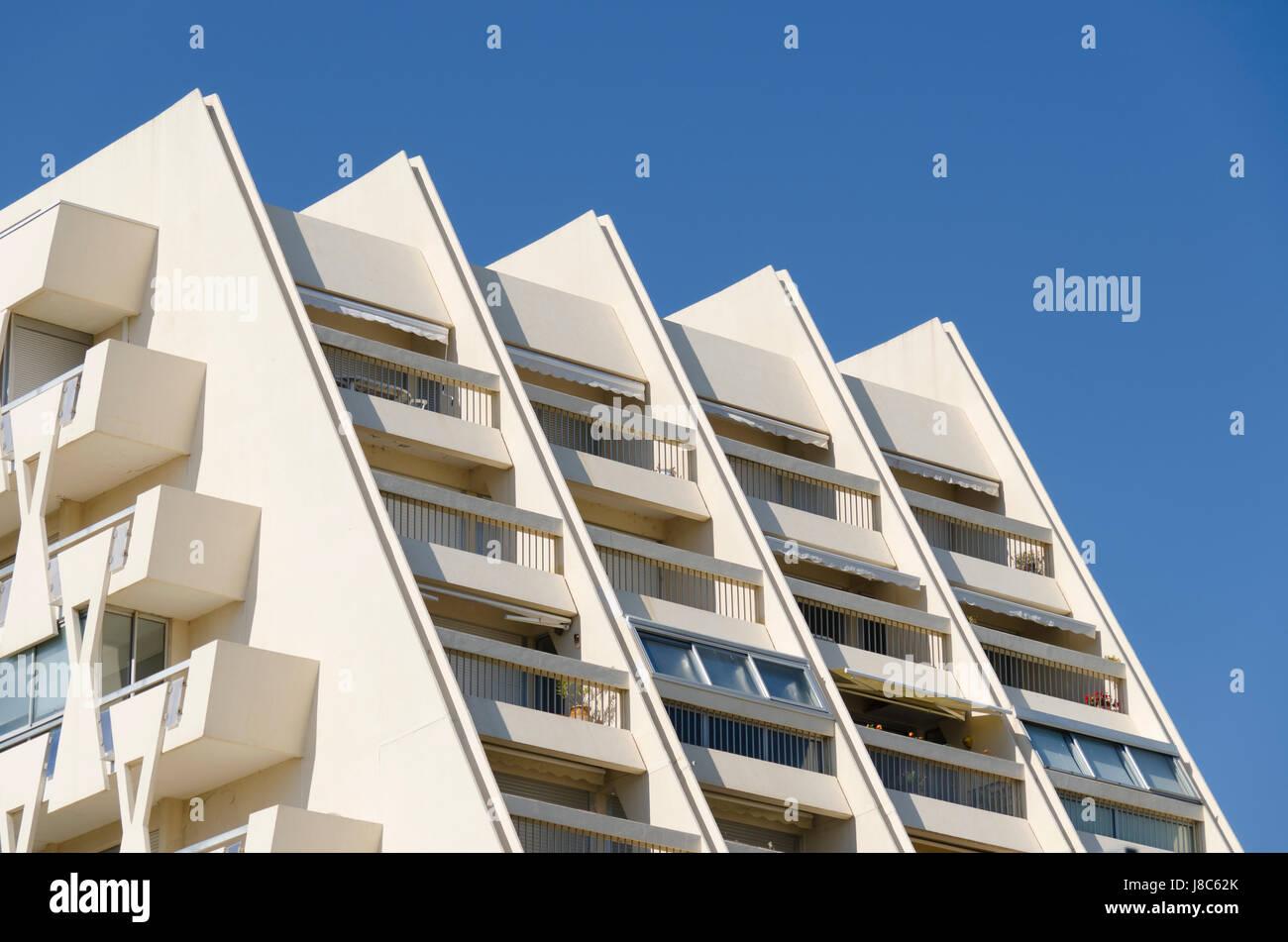 Modern, moderne, Pyramide, Baustil, Architektur, Architektur ...