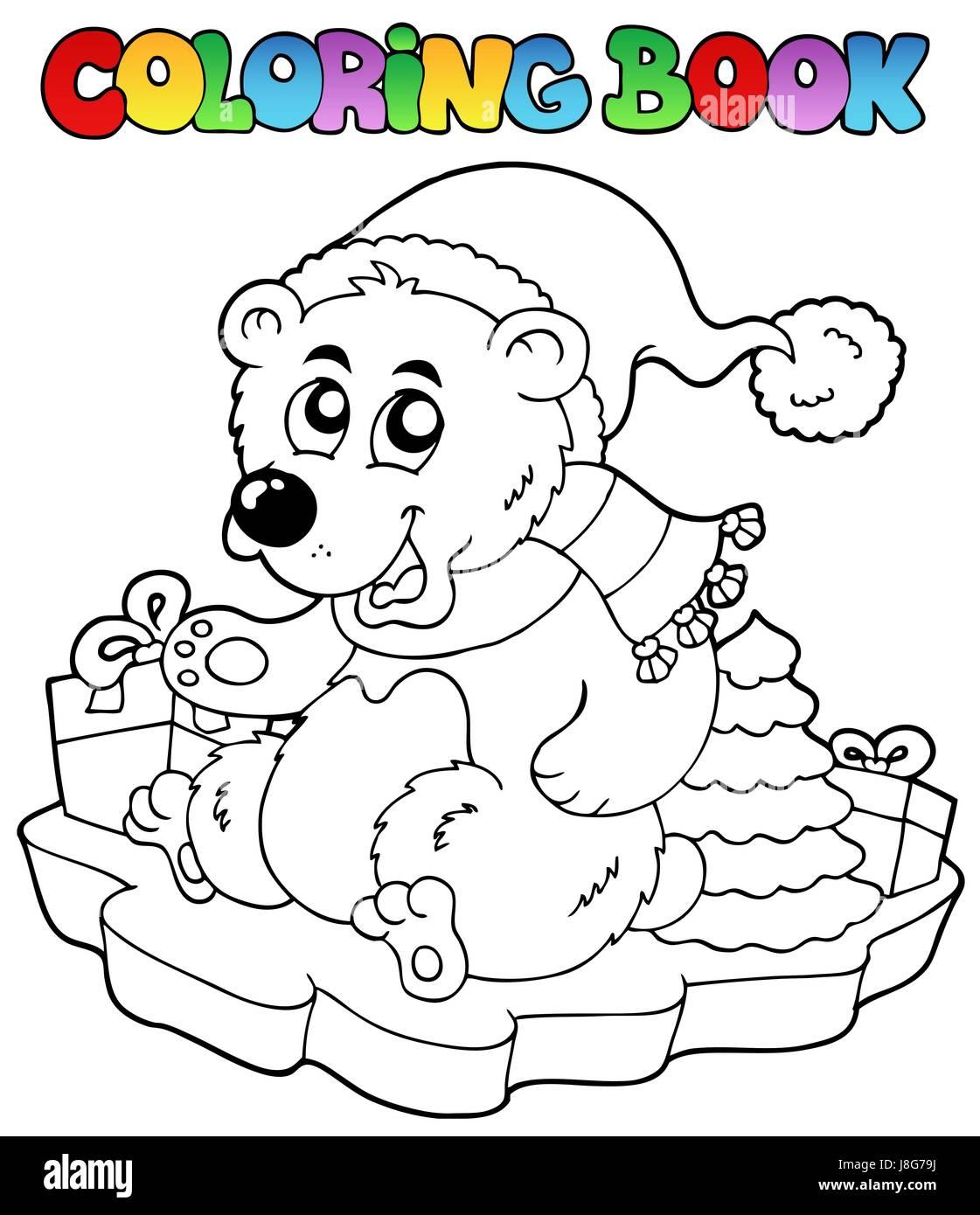 Farbe tragen, malen, gemalt, Färbung, Xmas, x-mas, Buch, Weihnachten ...