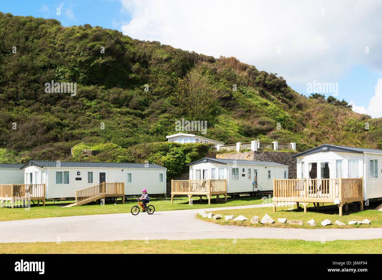 Mobilheim Mieten Cornwall : Mobilheime im pentewan sands holiday park cornwall england uk