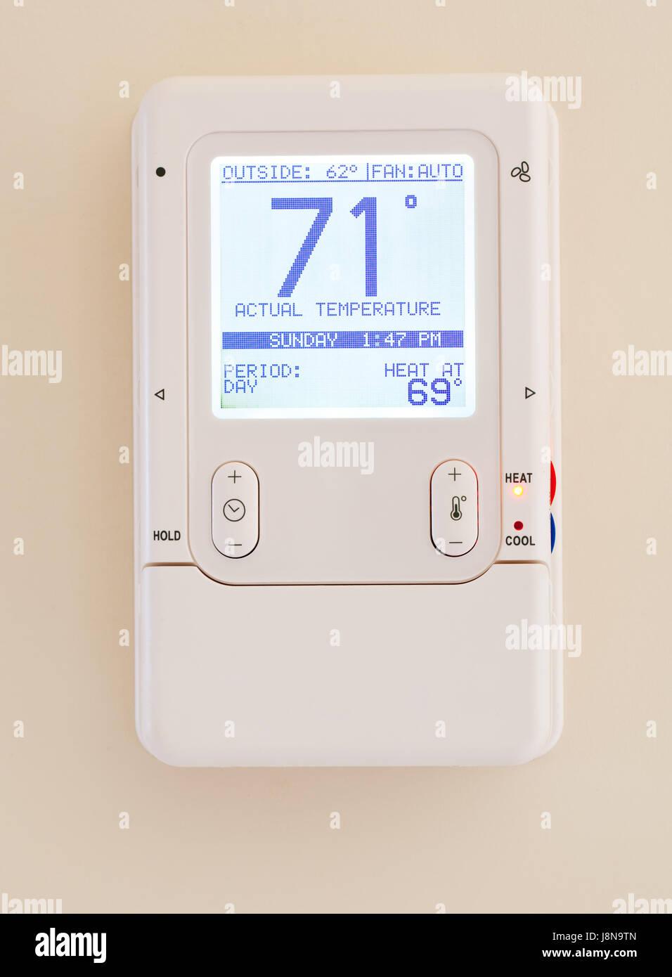 Modern Moderne Heizung Temperatur Thermostat Elektronische