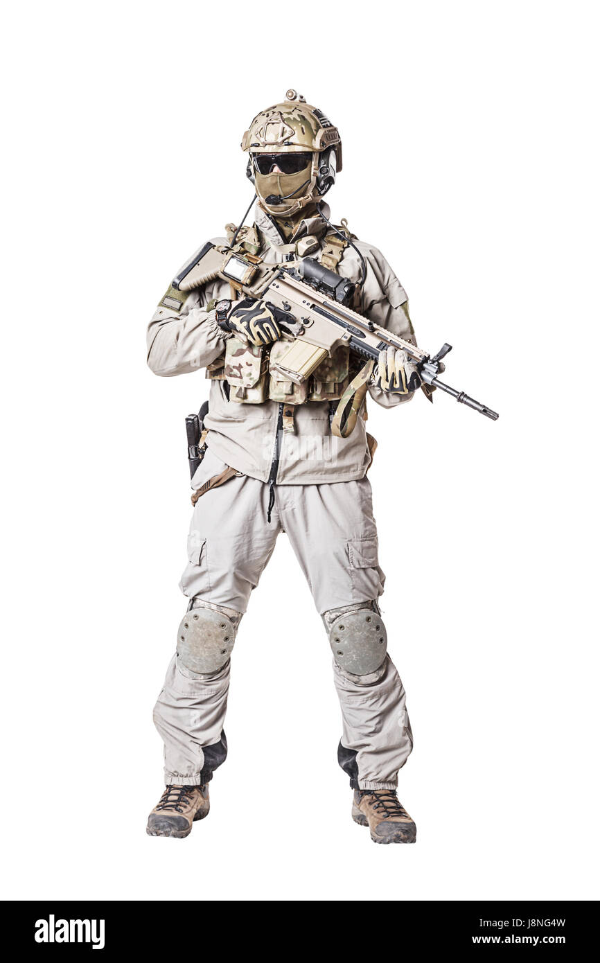 Soldat der Special Operations Forces Stockfoto