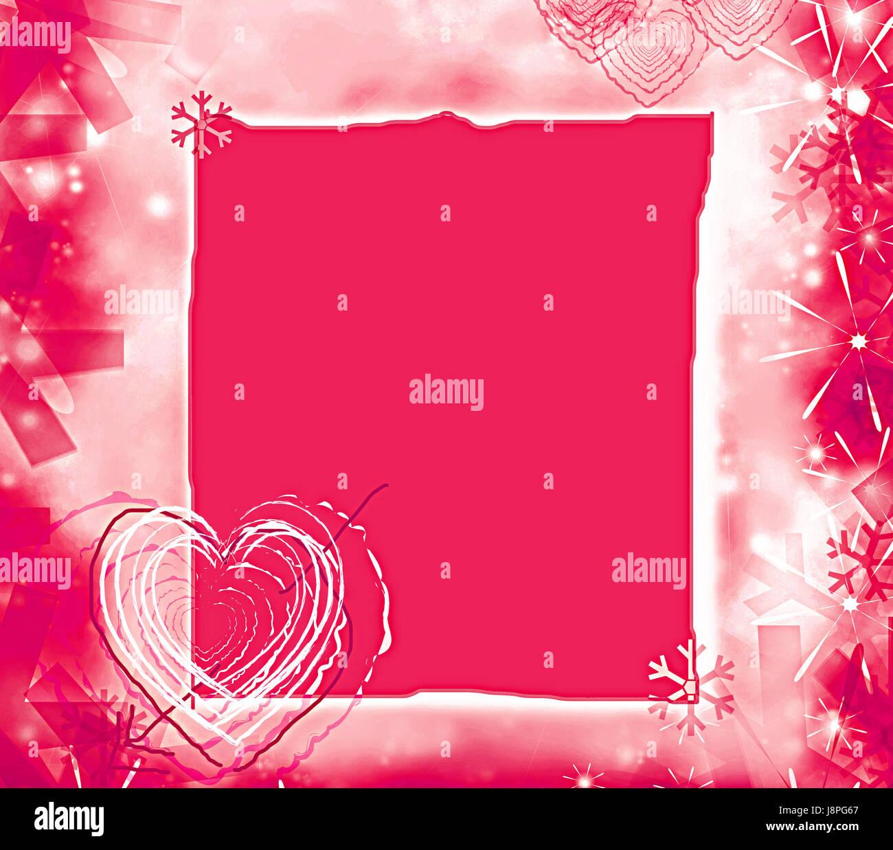 Farbe, Karte, Ankündigung, Rahmen, Liebe, verliebt, verliebte sich ...