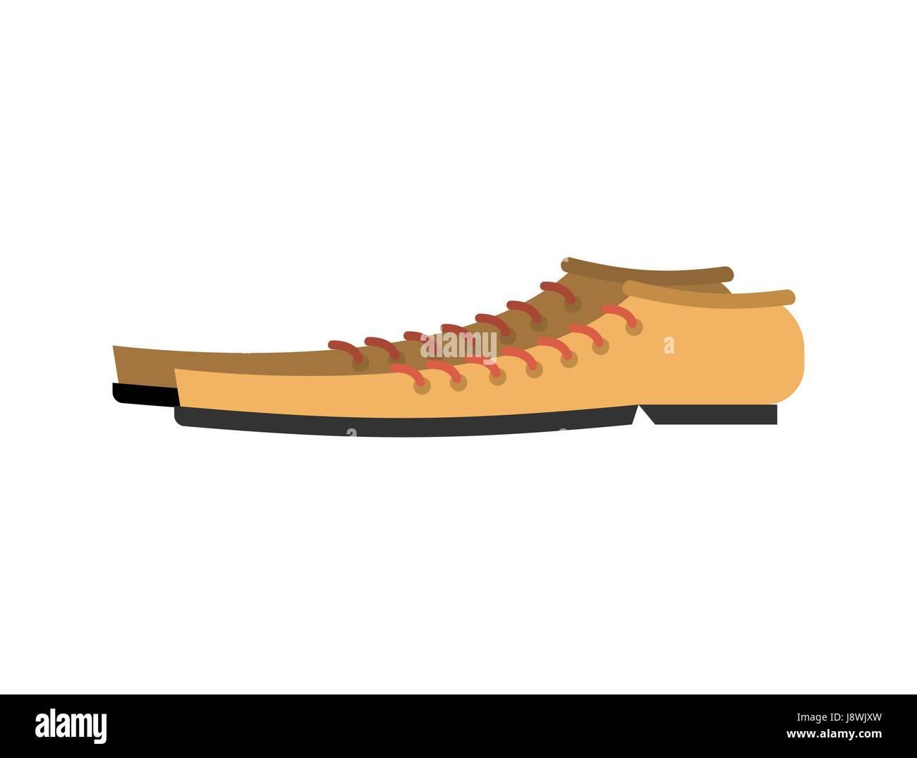 Stiefel Fur Clown Isoliert Lustige Schuhe Auf Weissem Hintergrund