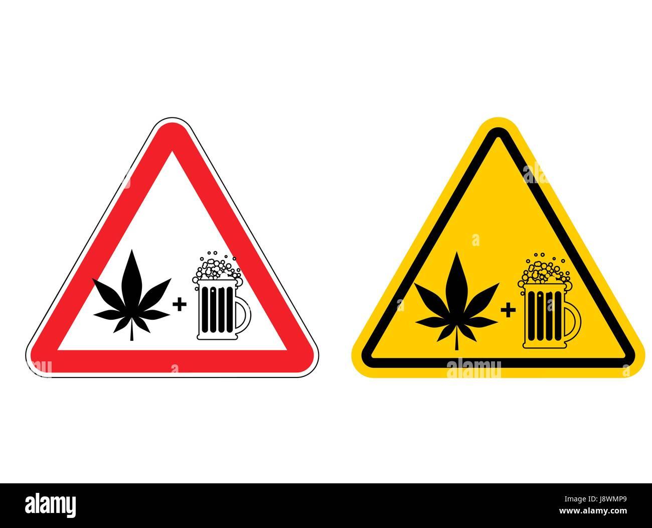 Drogen Warnung