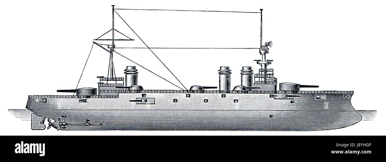 Frankreich, Pistole, Schusswaffe, Französisch, Schlachtschiff, Arm, Waffe, historische, Marine, Stockbild