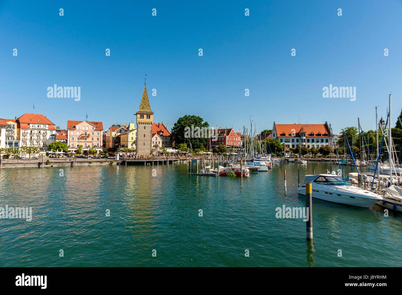 Lindau Bodensee, Deutschland, Europa Stockbild
