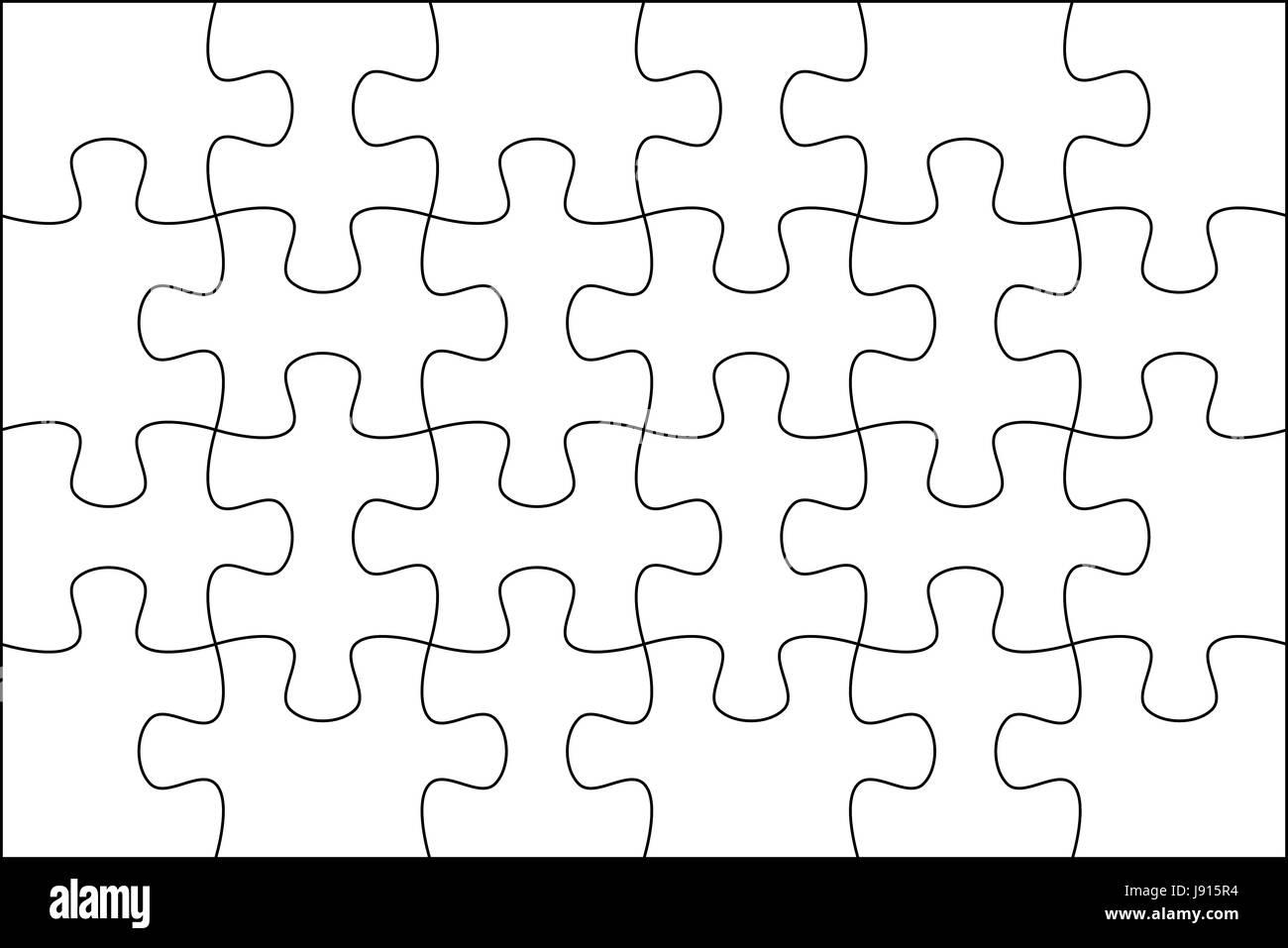 Gemütlich Puzzle Vorlage Zeitgenössisch - Malvorlagen Von Tieren ...
