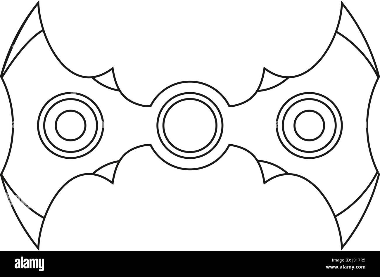 Hand Spinner. Stress Relief fidgets Spielzeug Symbol. Spielzeug ...