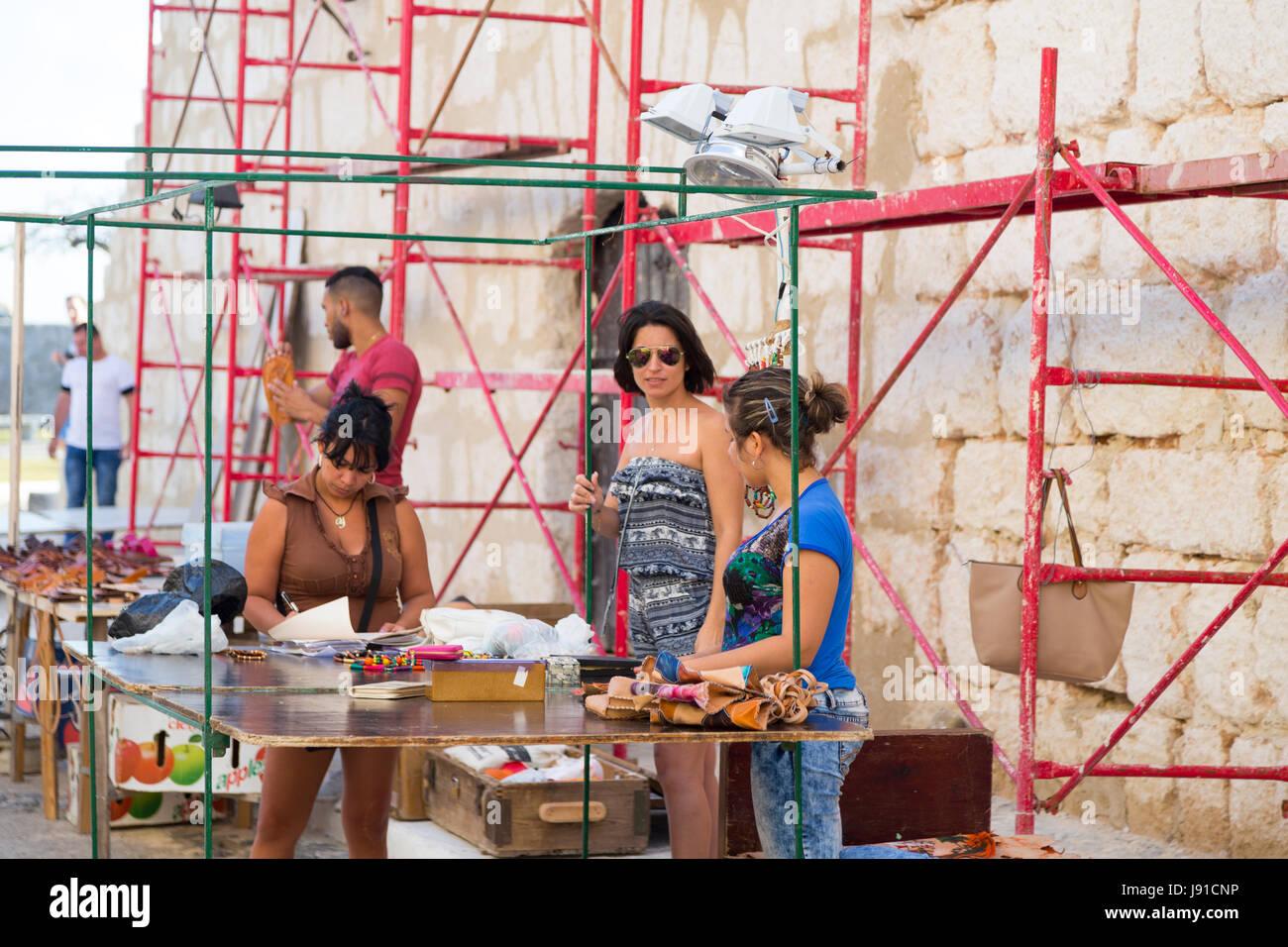 Havanna, Kuba Stockbild
