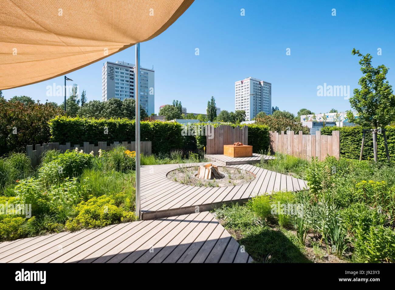 Prairie mit Holz Garten, Garten-Einstellungen, Ideen für ...