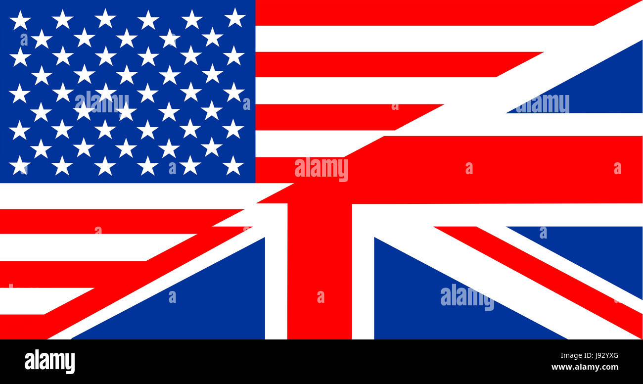 Fahne Auf Englisch
