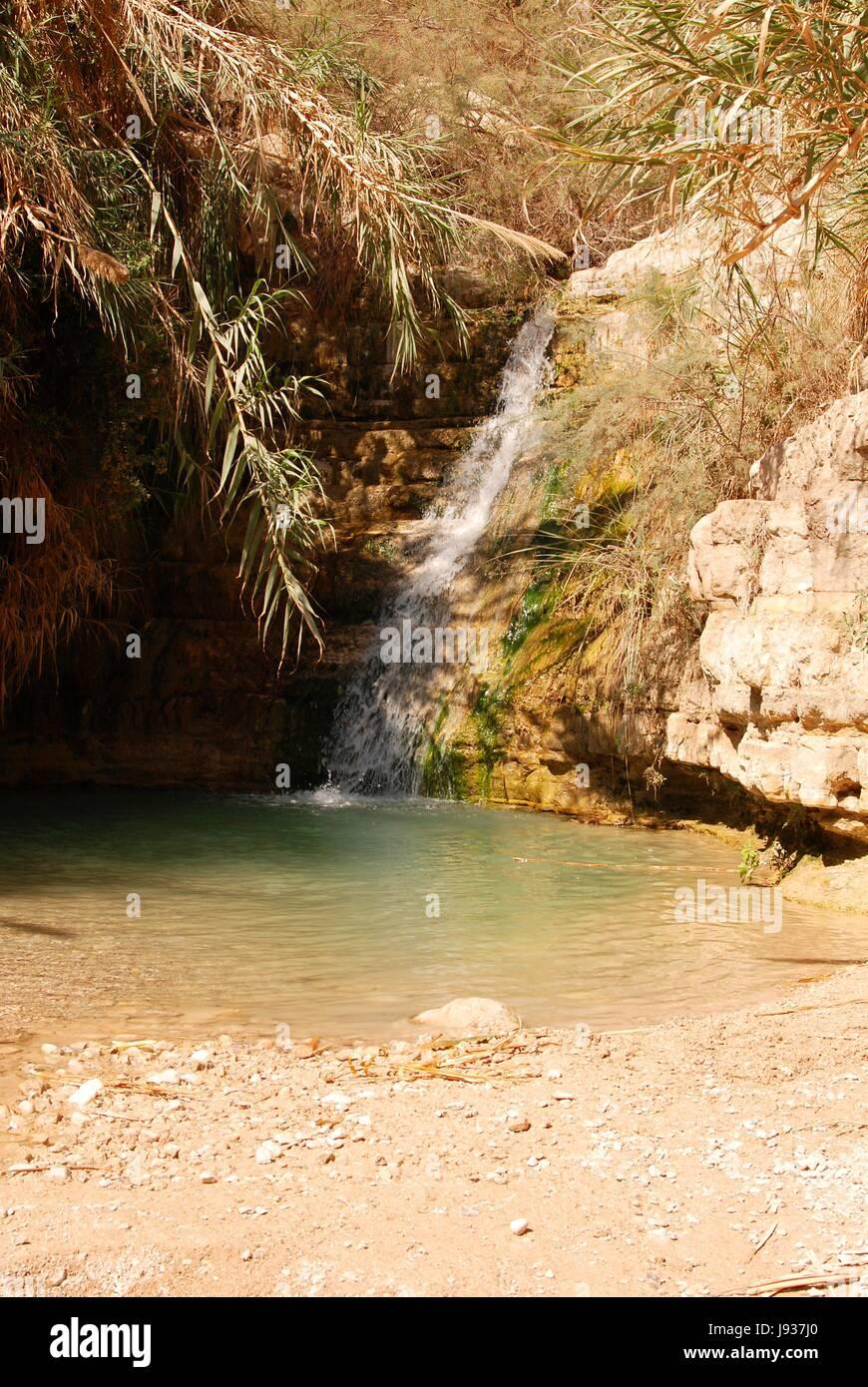 Israel Wadi Salz Reisen Berge Stein Urlaub Urlaub Ferien