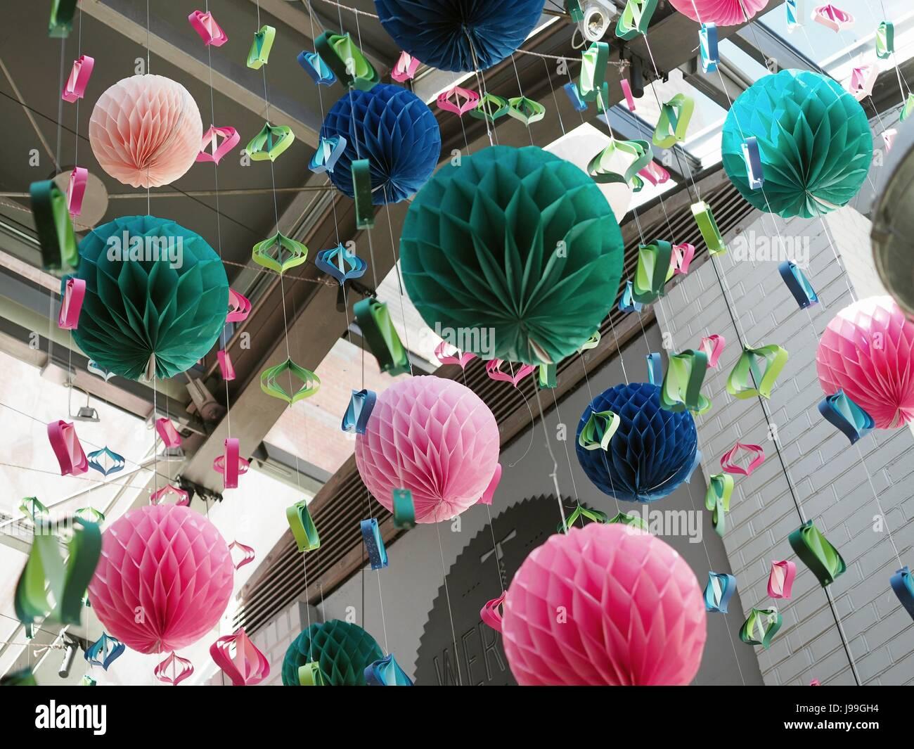 Bekannt Origami POM Papier Handwerk Ball Silvester oder Weihnachten Party VM71