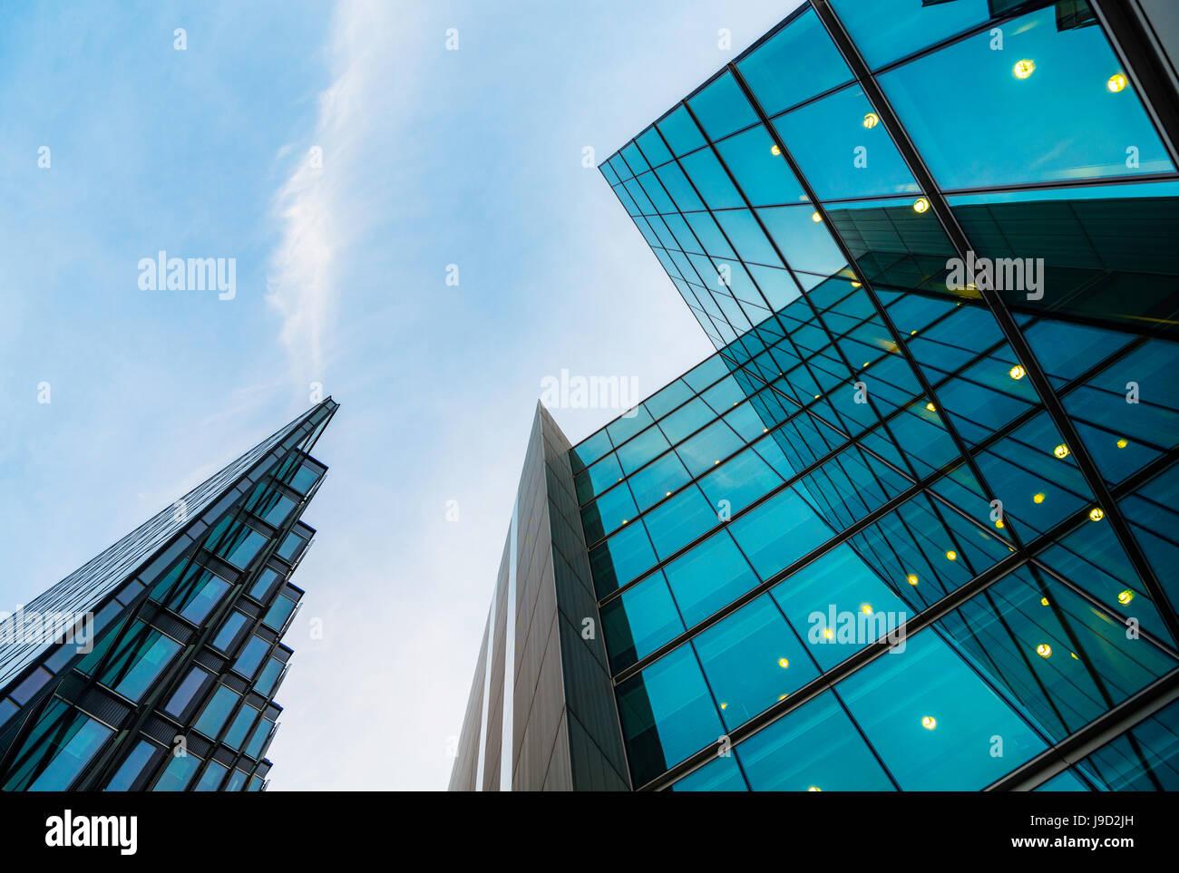 Modernes Bürogebäude in das Büro Komplex mehr London Riverside, Southwark, London, England, Vereinigtes Königreich Stockfoto