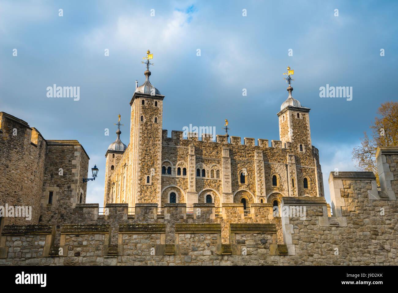 Tower of London, London, England, Vereinigtes Königreich Stockbild
