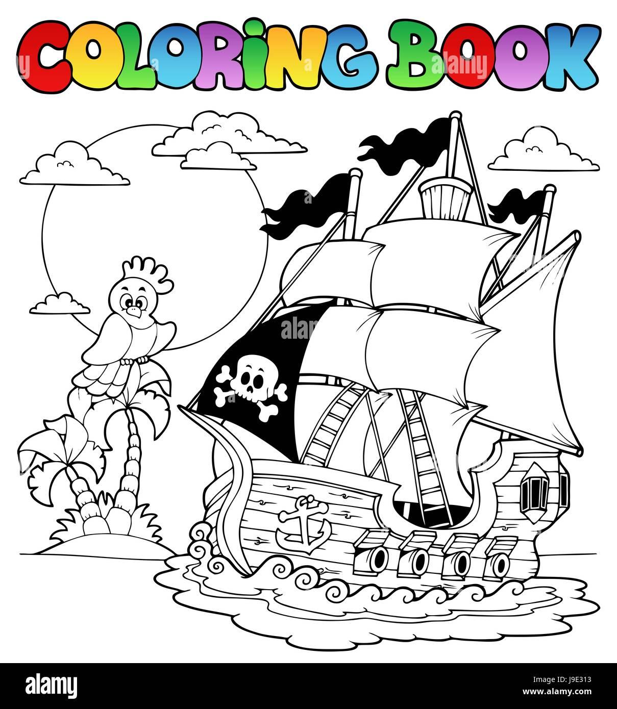 Ungewöhnlich Schiff Färbung Seite Ideen - Beispiel Wiederaufnahme ...