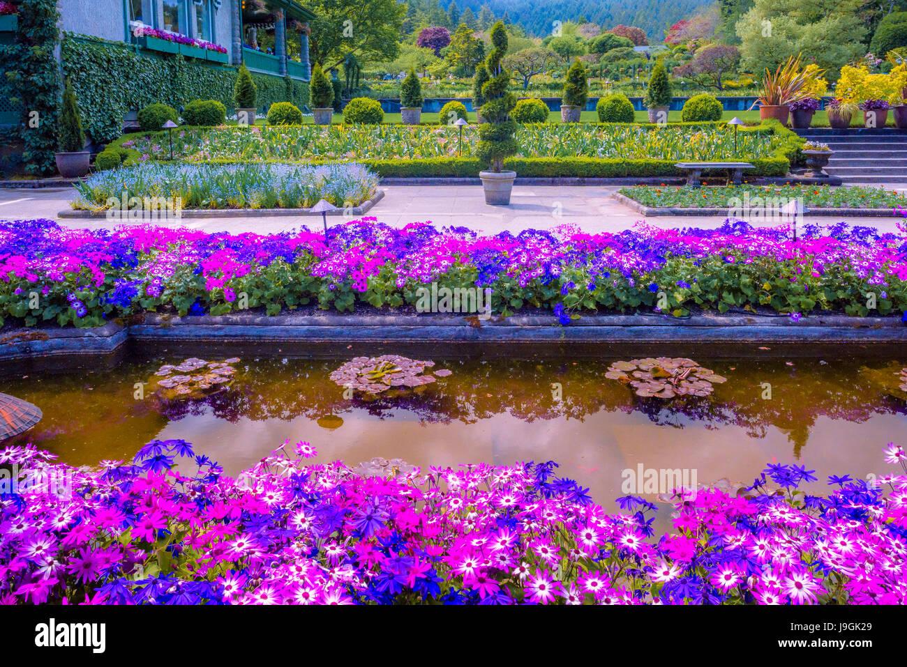 Bilder Butchart Gardens Victoria Vancouver Island