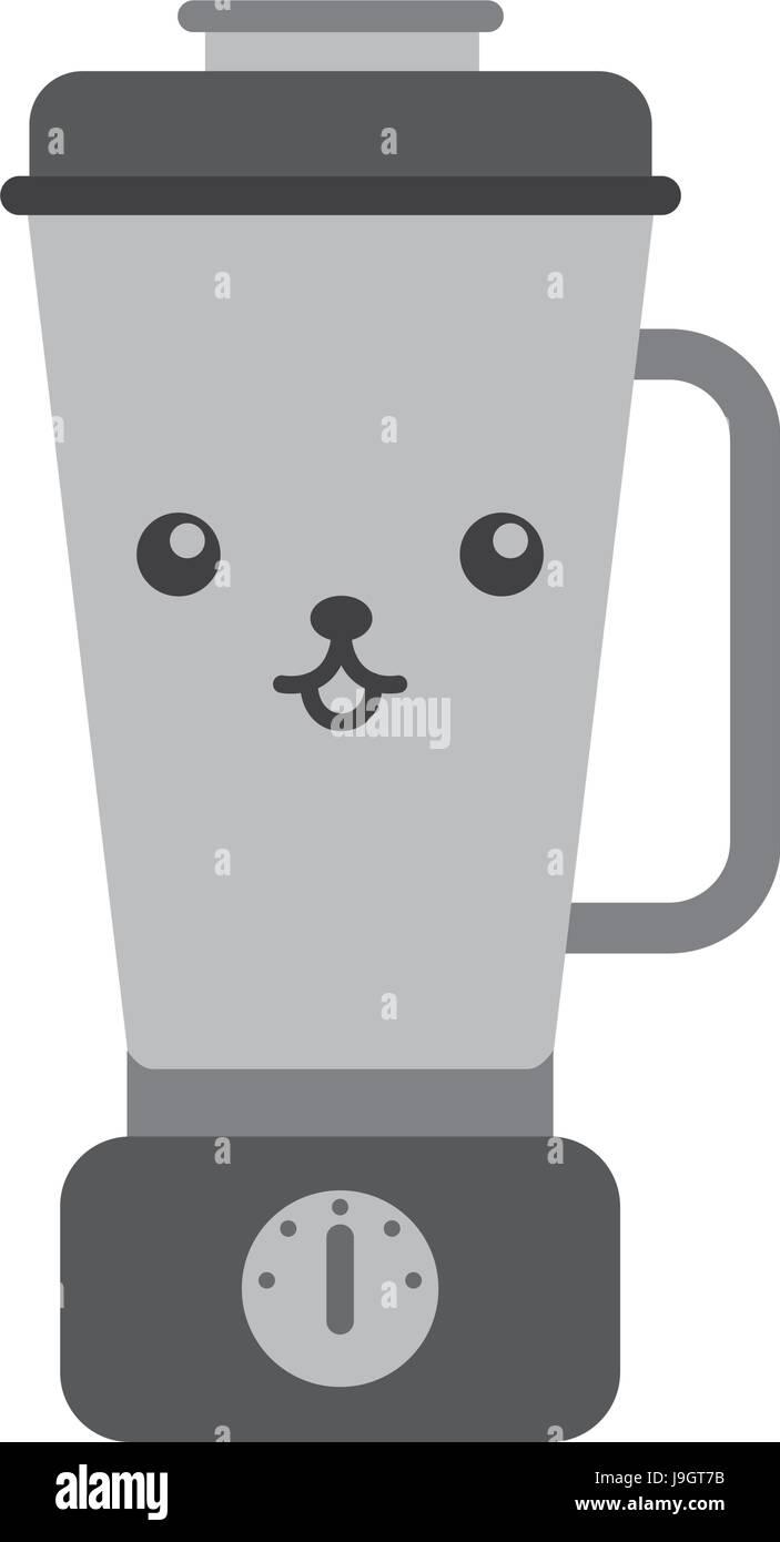 Cartoon Hand Mixer ~ Illustration of hand blender stockfotos